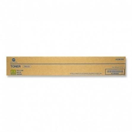 Toner Konica-Minolta TN-512Y A33K252 Yellow-Jaune