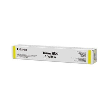 Toner Canon 034 Jaune/Yellow