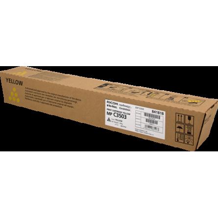 Toner Ricoh MP C3503 841818 Yellow-Jaune