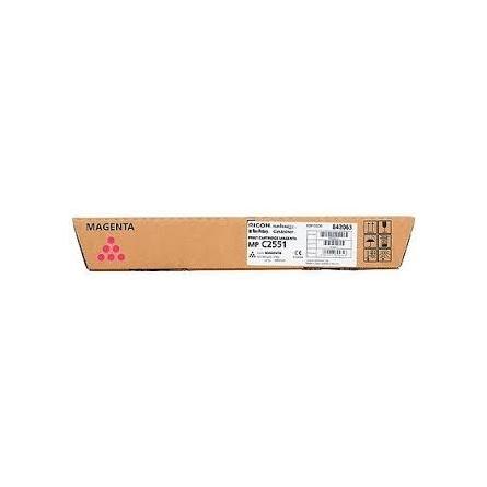 Toner Ricoh MP C2551 842063-841506 Magenta