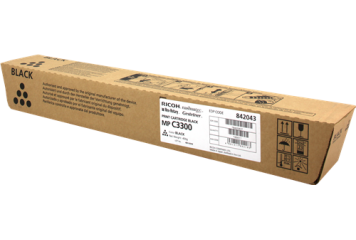 Toner Ricoh MP C3300 842043-841124 Black-Noir