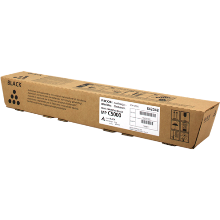 Toner Ricoh MP C5000 842048-841160 Black-Noir