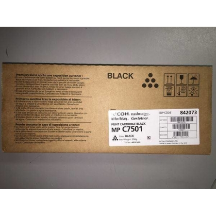 Toner Ricoh MP C7501 842073-841365-841361-841408 Black-Noir