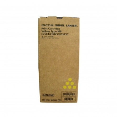 Toner Ricoh MP C7501 842074-841368-841364-841411 Yellow-Jaune